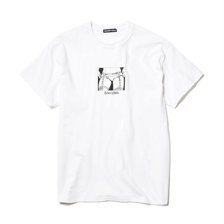 "Delivery Hells / ""Take off"" Tee (white)"