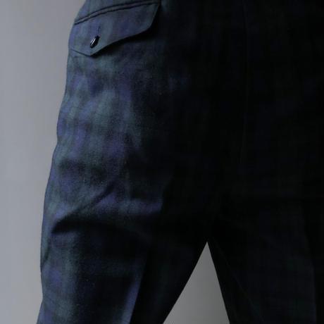 "Christian Dior sports ""tuck wool slacks"" (BULBS VINTAGE)"
