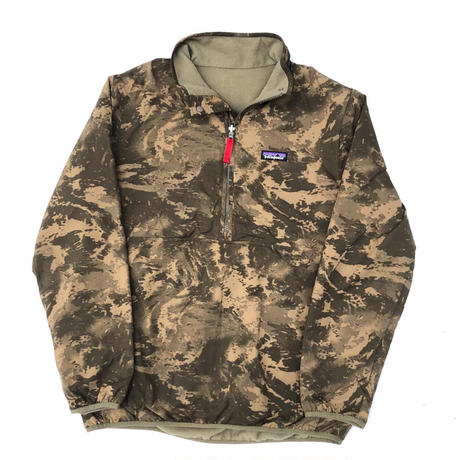 """2015 Patagonia """"REVERSIBLE SNAP-T GLISSADE PULLOVER"""" (Camo)"""