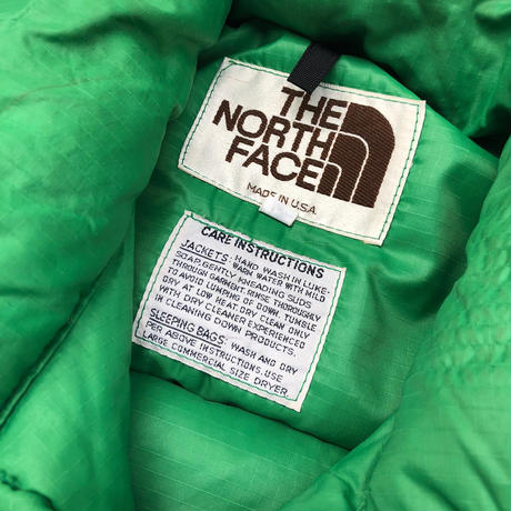 """80's THE NORTH FACE """"Down vest"""""""