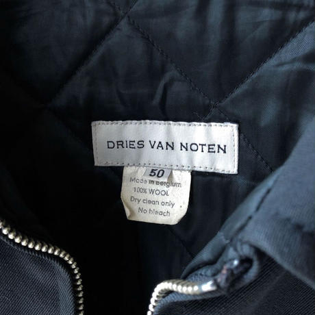 "DRIES VAN NOTEN ""black jacket"" (BULBS VINTAGE)"