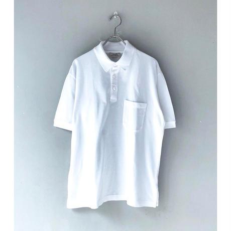 HERMES / S/S Polo Shirt (white)