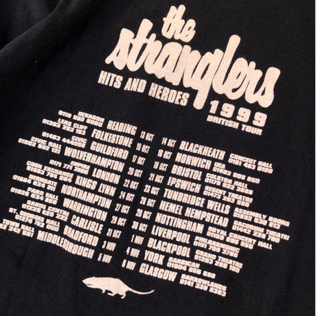 the stranglers 1999 British Tour Tee (spice)