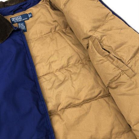 "90's Polo Ralph Lauren ""Down Jacket""  (spice)"