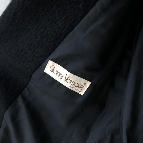 "Gianni Versace  ""80's alpaca long coat""  (Hi brand hurugi)"
