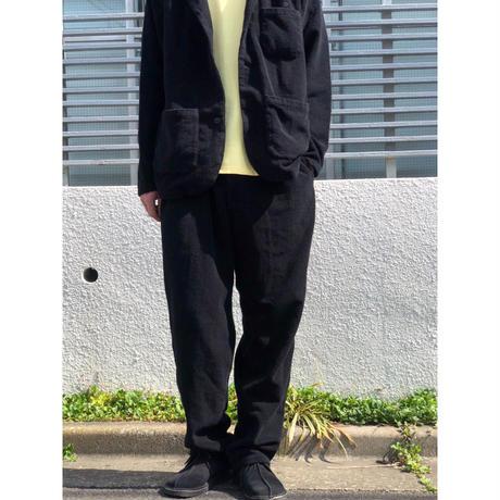 MASSES / PILE PANTS (black)