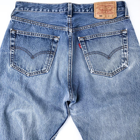 "90's Levi's 501 ""Made in USA"" (spice)"
