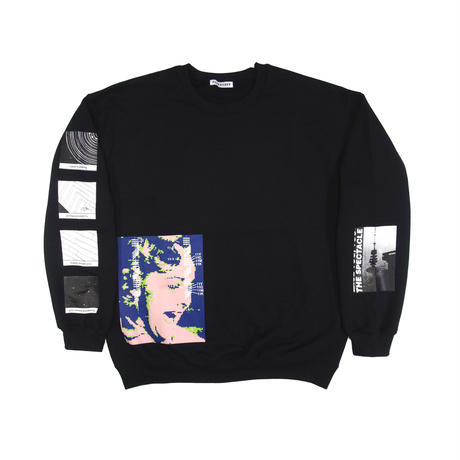 "F-LAGSTUF-F / ""Spectacle"" Sweat (black)"