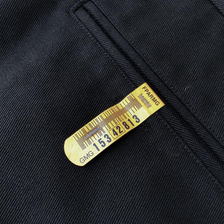 "FORTY PERCENT AGAINST RIGHTS ""Worker Trousers"" (black)"