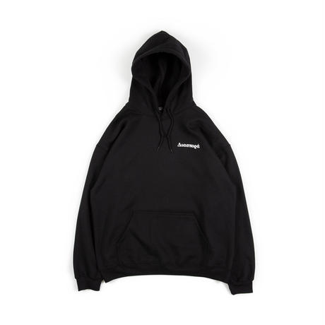 "Diaspora skateboards ""Vue Magic Circle Hooded Sweatshirt "" (black)"