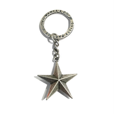 WACKO MARIA / STAR KEY HOLDER (silver)