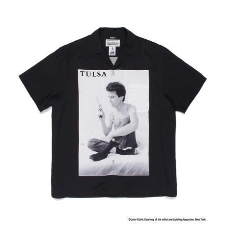 "WACKO MARIA /  Larry Clark / Site-lo "" TULSA  Hawaiian shirt"