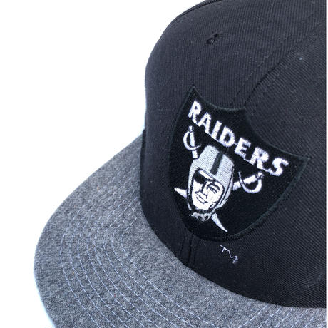 "RAIDERS "" 6 panel cap "" USA製  (spice)"