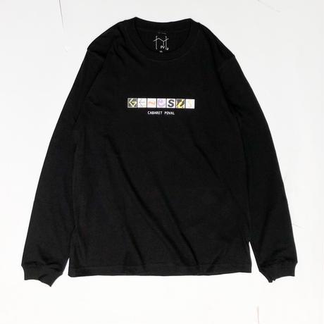 CABARET POVAL /  Genesis L/S tee (black)