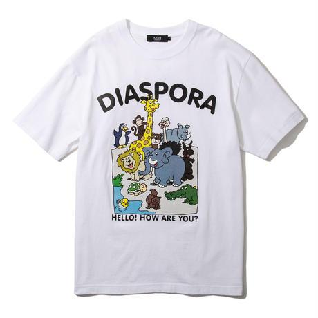 "Diaspora skateboards  / ""Greeting Tee""(white)"