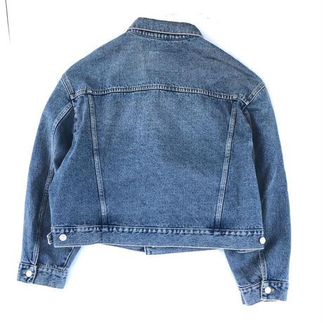 """2016 BALENCIAGA  """"Denim Swing Jacket""""  (Hi brand hurugi)"""
