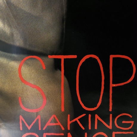 "80's TALKING HEADS "" STOP MAKING SENSE  ""  poster   (spice)"