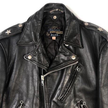 """60's SCHOTT  黒タグ """"one star riders jacket"""" (spice)"""
