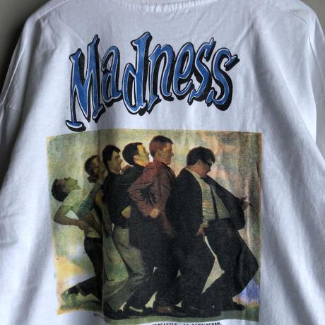 """1995  MADNESS  """"MAD MASS L/S Tee""""  (spice)"""