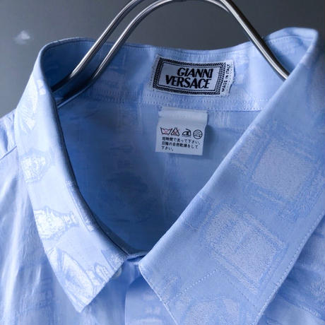 "GIANNI VERSACE "" Fragrance bin L/S  shirt"" (Hi brand hurugi)"