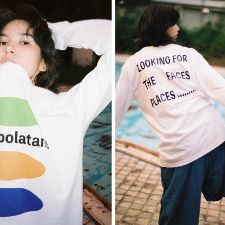 Diaspora skateboards / the diarspolatans L/S Tee (white)
