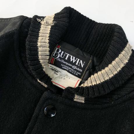 "80's BUTWIN ""  アームレザースタジャン""(spice)"