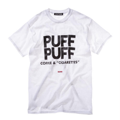 "offshore × DRAGON BALL × ZATUON / ""PUFF PUFF "" Tee (white)"