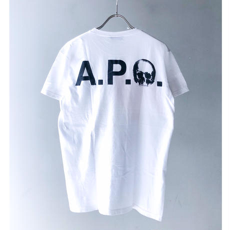 """Kidult"" Tee ""A.P.C."" (white) (spice)"