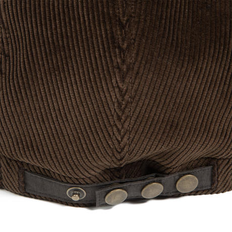 Diaspora skateboards / Bitter Soft Visor Cap (brown/ D.olive)