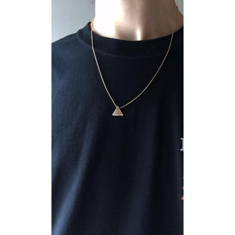 "14K GOLD Pendant Top ""ピラミッド"""