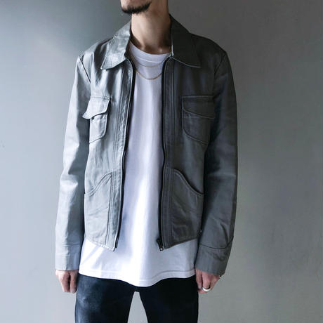 Martin Margiela (14) / Leather Jacket (ここのえタグ)