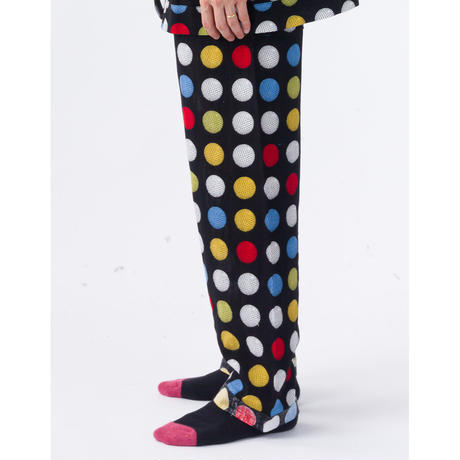 PHINGERIN / NIGHT PANTS GAUZE GOLF DOT