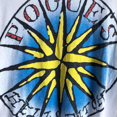 "90's THE POGUES ""HELL'S DITCH Tee  (spice)"