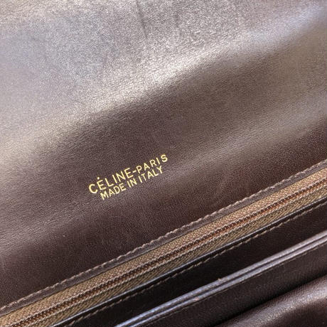 "old ""CELINE ""馬車柄 shoulder bag"" (Hi brand hurugi)"