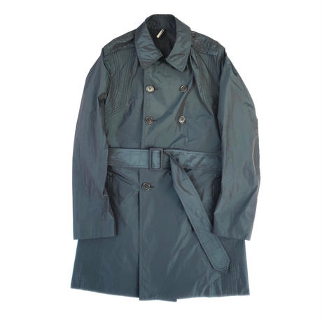 "Dior Homme 08AW ""Pleated Trench Coat"""