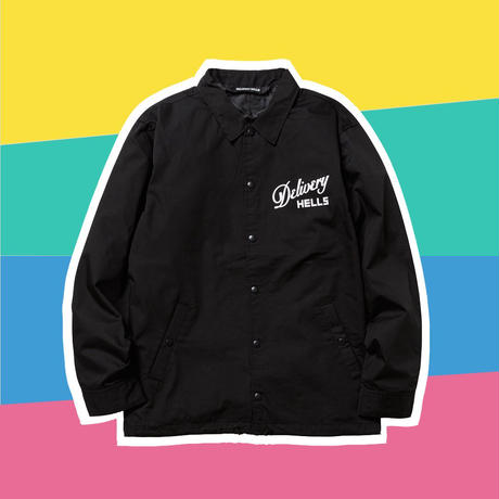 DELIVERY HELLS  / Scared Coach JKT (black)