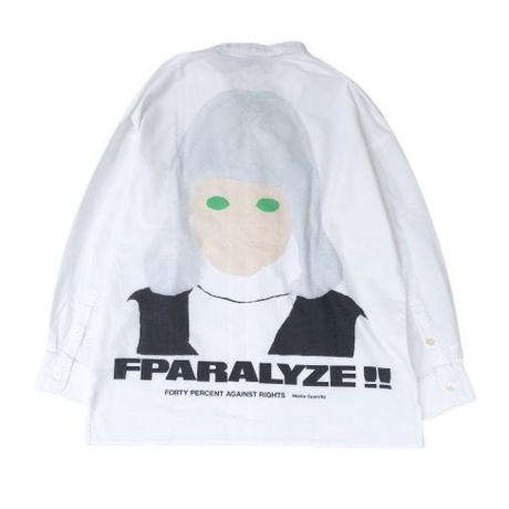 FORTY PERCENT AGAINST RIGHTS / FPARALYZED LS SHIRT