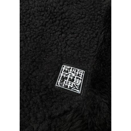 F-LAGSTUF-F / PATCHWORK BOA MA-1  (black)