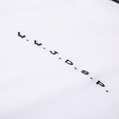 "Diaspora skateboards  / ""W.W.J.D.S.P Tee"" (white)"