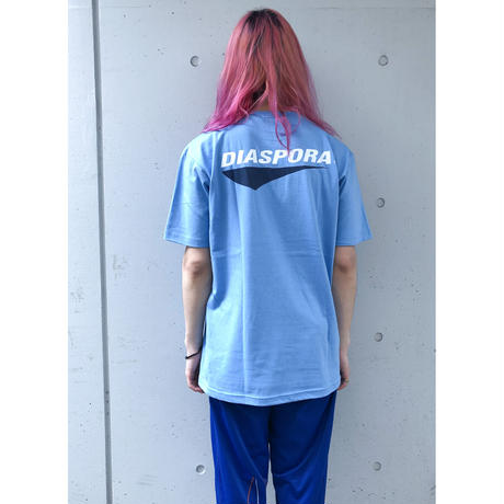 """Diaspora skateboards  / """"Tour Logo Tee"""" (black)"""