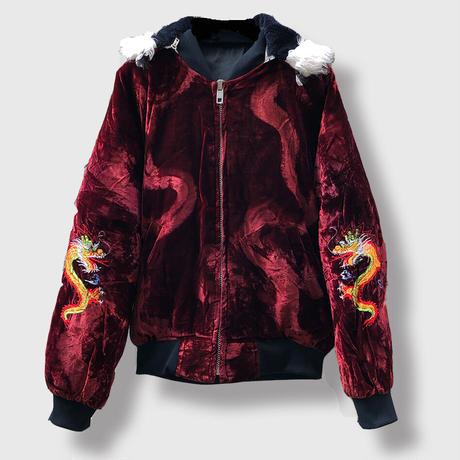80's Souvenir Hooded Jacket (spice )