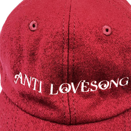tr.4 suspension / ANTI LOVE SONG WOOL CAP (red)
