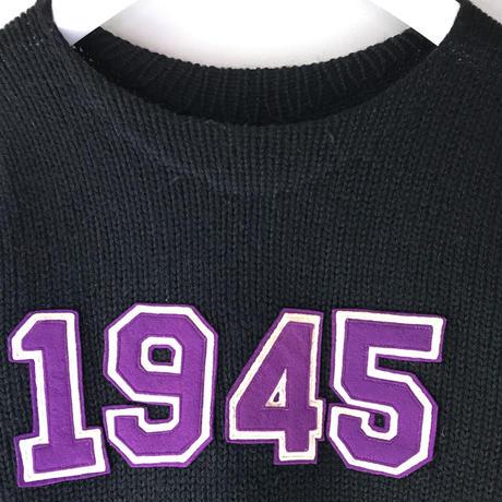 """VINTAGE  """"1945 """"Wool  Knit (spice)"""