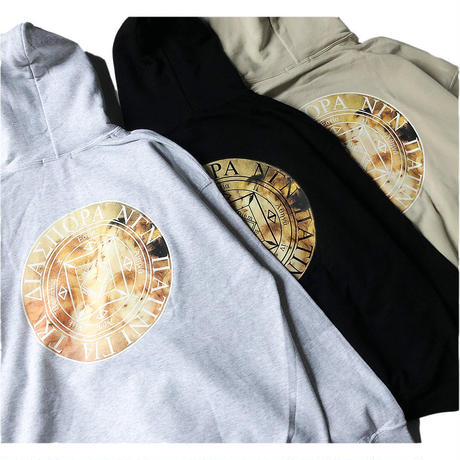 "Diaspora skateboards "" Chorus Magic Circle Hooded ""  (ash)"