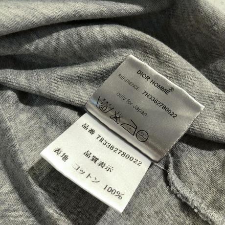 "Dior Homme "" gray  Bee Tee "" (Hi brand hurugi)"