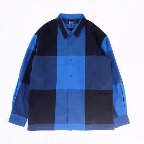 MASSES /  BIG CHECK SHIRT (blue)
