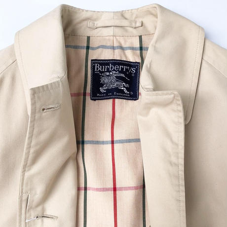 "Burberry vintage ""一枚袖"" Balmacaan Coat (ladies) (spice)"