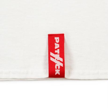 Diaspora skateboards×PATRICK / Brick Wall L/S Tee  (white)