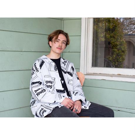"F-LAGSTUF-F × Sonic Youth ""L/S shirt"" (white)"