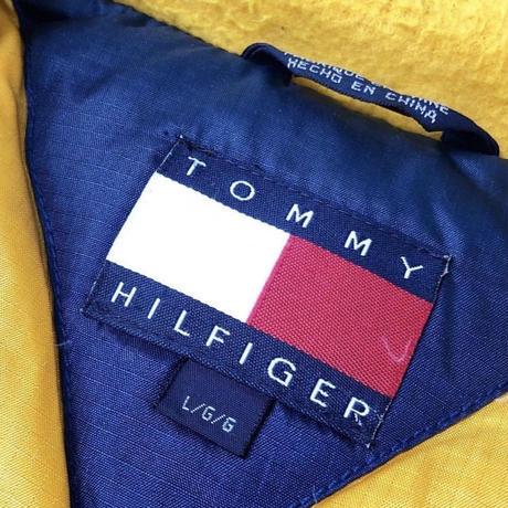 90's TOMMY HILFIGER ダウンジャケット (spice)